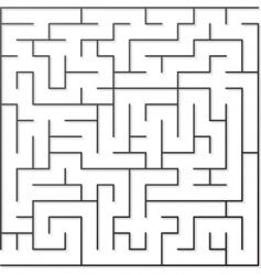 Black maze vector