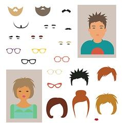 Character designer vector