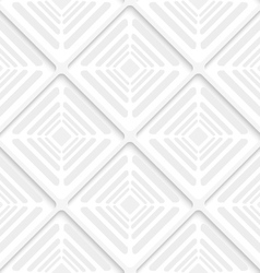 Diagonal gray offset squares pattern vector