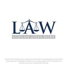 Law logo designs vector