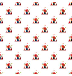 Shapito circus pattern vector