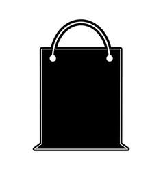 shopping bag symbol vector image