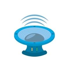 Speaker audio sound volume vector