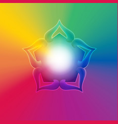 spiritual background vector image