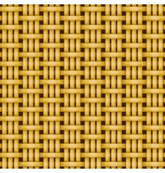 Wicker basket weaving pattern seamless texture vector