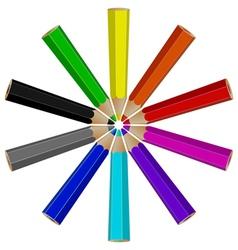pencil logo vector image vector image