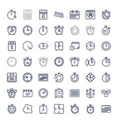 49 deadline icons vector