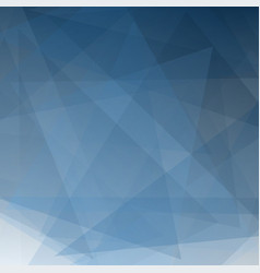abstract blue gradient perspective shape vector image