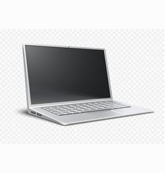 Laptop airbook ultrathin vector