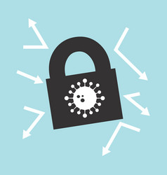 Locking down to prevent corona virus vector