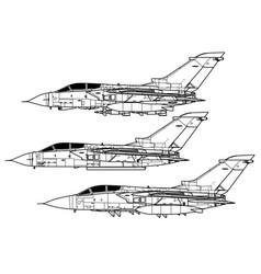 Panavia tornado vector