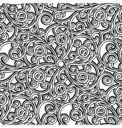 Vintage lattice pattern vector