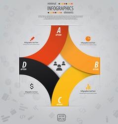 infographics design 7 vector image