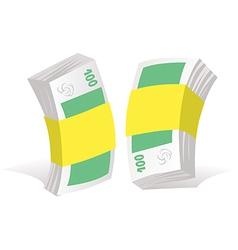paper money vector image