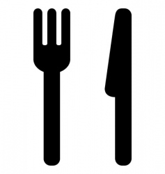 dining icon vector image vector image