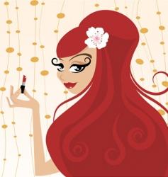 fashion beauty vector image vector image