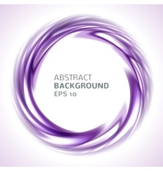 Abstract purple and pink swirl circle bright vector image