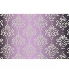 Baroque ornament pattern vector