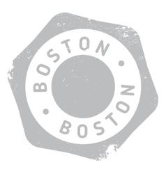 Boston stamp rubber grunge vector