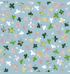 Ditsies floral seamless repeat pattern in vector