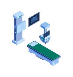 Xray apparatus icon vector