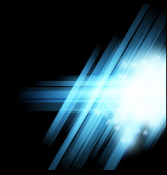 abstract halftone blue light background vector image