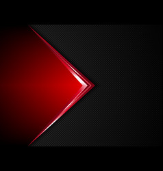 Black and red metal background vector