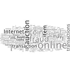 Bwcc how to avoid shysters and fraud vector