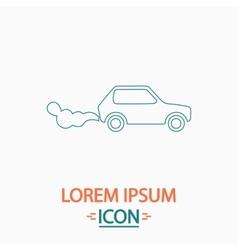 Contamination computer symbol vector