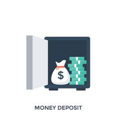 Deposit vector