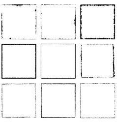 Frame big set vector