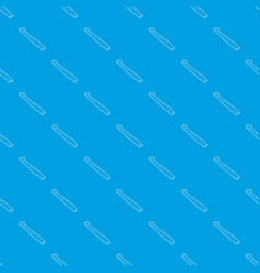 paper language pattern seamless blue vector image