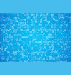 pool water swim background summer poster texture vector image
