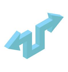 Resize arrow design vector