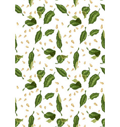seamless pattern for textile and print with vector image