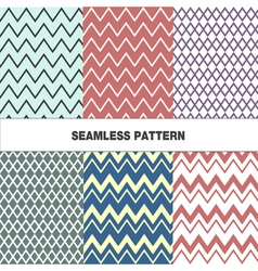 Seamless pattern with zigzag vector
