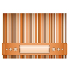 Orange and brown background vector image