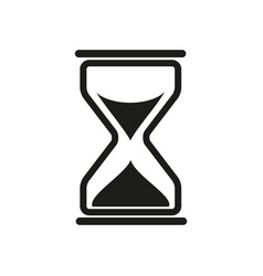 sand times icon vector image vector image