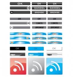 media tabs vector image