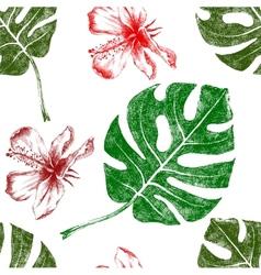 tropical seamless vector image
