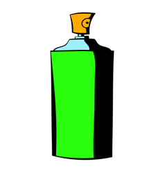 Bottle of cologne icon icon cartoon vector