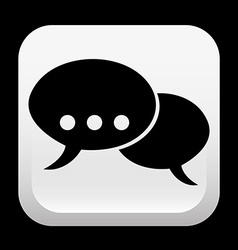 chat design vector image