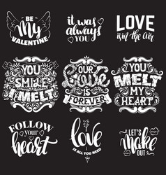 collection quote typographical background made vector image