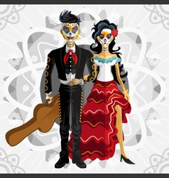 Dia De Los Muertos Day Of The Dead Bride vector image