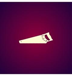 hacksaw icon concept for vector image