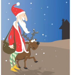 Santa Clause vector image