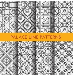 Seamless pattern Royal pattern vector image