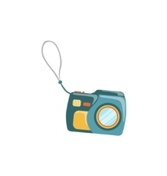 Underwater Plastic Camera With The Attachment Loop vector image