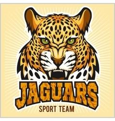 Jaguars - Sport Team Design vector image