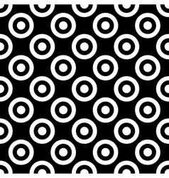 Polka dot geometric seamless pattern 1312 vector image